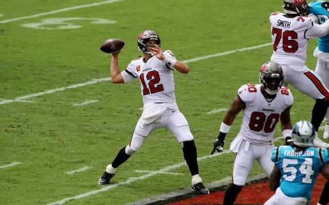 Tom Brady spielt seit dieser Saison in Tampa Bay