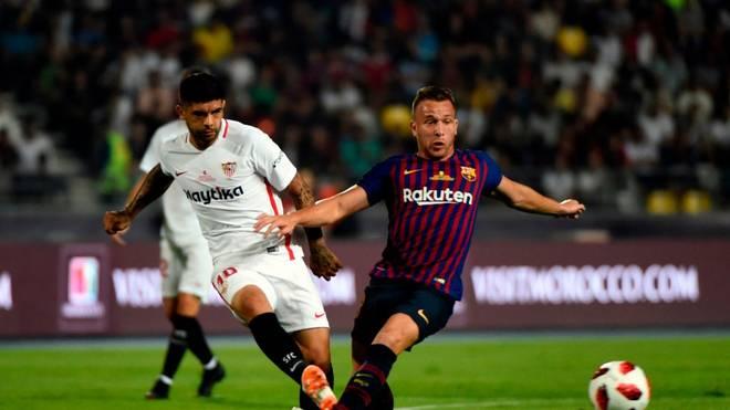 Im Supercup 2018 bezwang der FC Sevilla den FC Barcelona mit 2:1