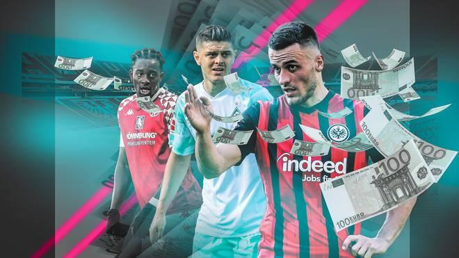 Filip Kostic (r.) steht bei Eintracht Frankfurt noch bis 2023 unter Vertrag