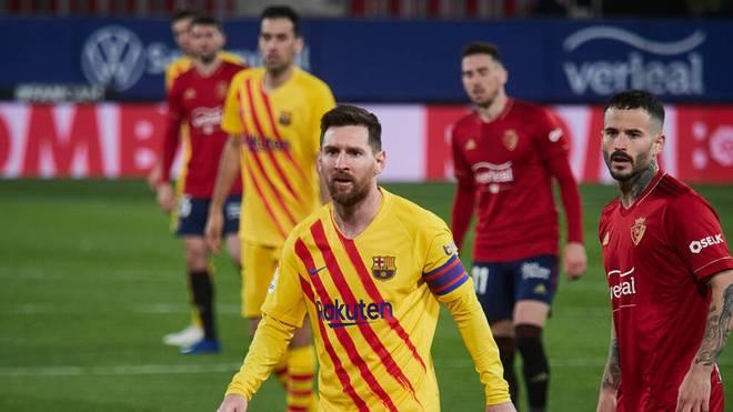 Lionel Messi machte in Pamplona einmal mehr den Unterschied