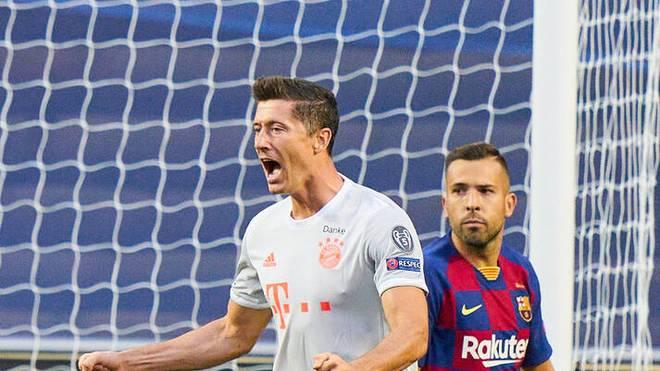Robert Lewandowski wechselte 2014 vom BVB zum FC Bayern