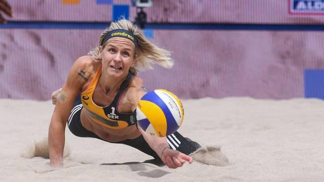Laura Ludwig kann ihren achten deutschen Meistertitel gewinnen