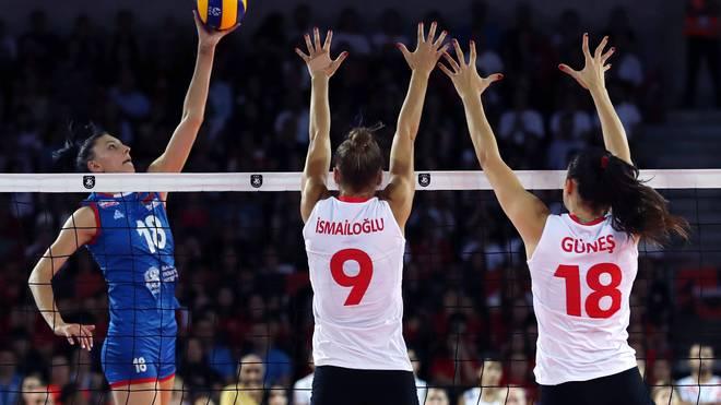 Die Türkei und Serbien treffen bei der EM schon zum zweiten Mal aufeinander
