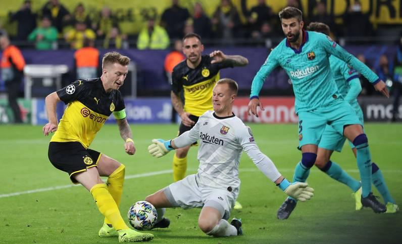 FC Barcelona gegen Borussia Dortmund: Es ist eines der vermeintlich packendsten Duelle der diesjährigen Champions-League-Gruppenphase. Das Hinspiel dominierte der BVB und sorgte dabei trotz des torlosen Remis für eine sehenswerte Partie