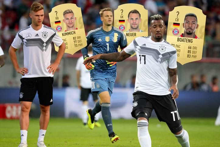 Mit den Niederlanden und Frankreich warten keine leichten Aufgaben auf die DFB-Elf. Doch wie stark ist die Nationalmannschaft im aktuellen FIFA 19 und wie schneiden Kimmich, Neuer, Boateng in FIFA 19 ab? SPORT1 präsentiert die Nationalmannschaft im Check