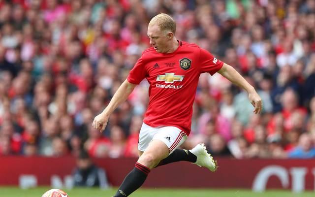 Paul Scholes gewann mit Manchester United zwei Mal die Champions League