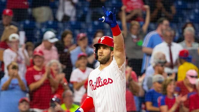 Bryce Harper spielt bei den Philadelphia Phillies