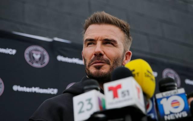 David Beckham ist Mitbesitzer von Inter Miami