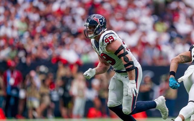 J.J. Watt wurde 2011 von den Houston Texans in der ersten Runde gedraftet
