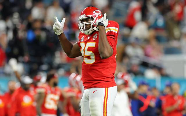 Chris Jones bleibt bei den Kansas City Chiefs