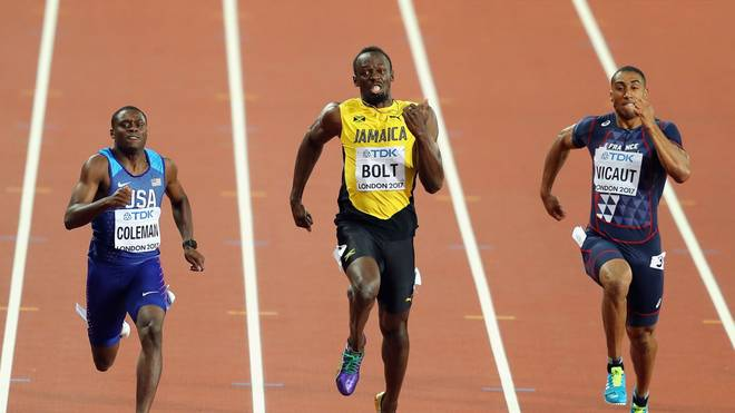 Der mittlerweile zurückgetretene Weltrekordhalter Usain Bolt lief in völlig neue Sphären