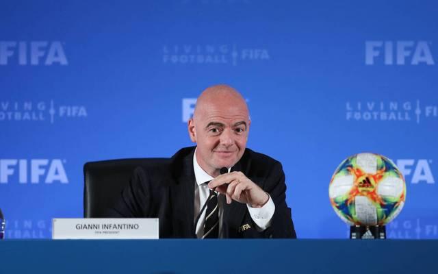 Gianni Infantino hat zum ersten virtuellen FIFA Kongress geladen