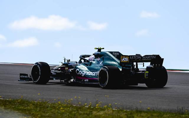 Sebastian Vettel stellte seinen Wagen bei McLaren ab
