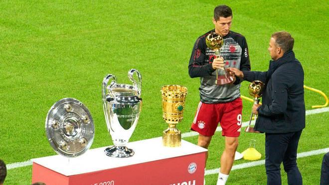 Robert Lewandowski wurde mit 15 Toren Torschützenkönig der Champions League