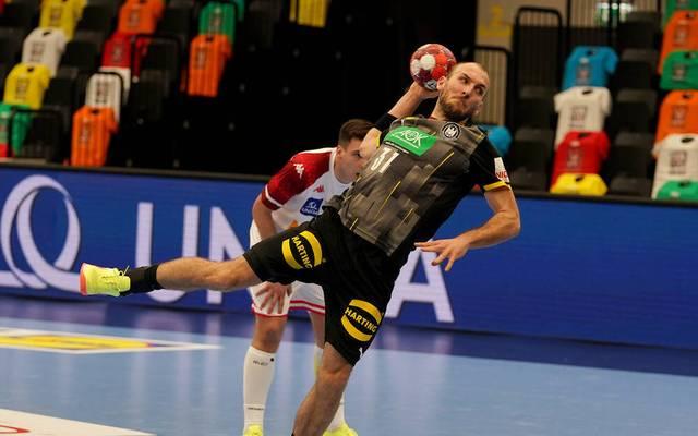 Marcel Schiller zeigte gegen Österreich eine bärenstarke Leistung
