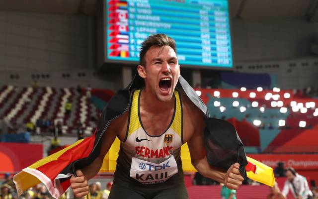 Niklas Kaul holte bei der WM 2019 den Titel im Zehnkampf