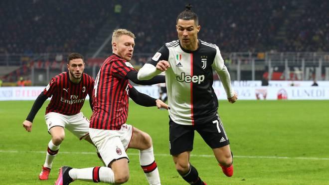 Das Halbfinal-Rückspiel der Coppa Italia zwischen Juventus Turin und dem AC Milan wurde wegen des Coronavirus abgesagt