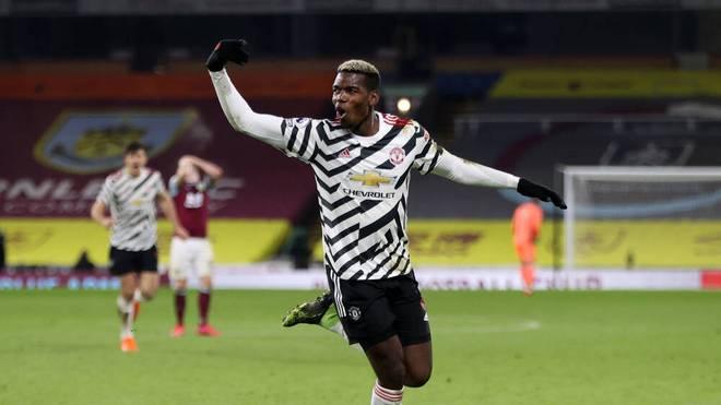 Paul Pogba erzielte das Siegtor für ManUnited