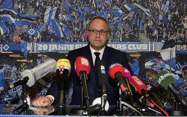 Frank Wettstein ist seit 2014 Vorstand Finanzen beim HSV