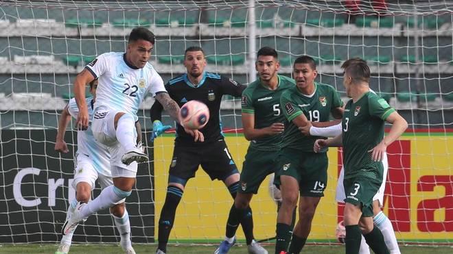 Lautaro Martinez trifft für Argentinien in der WM-Quali