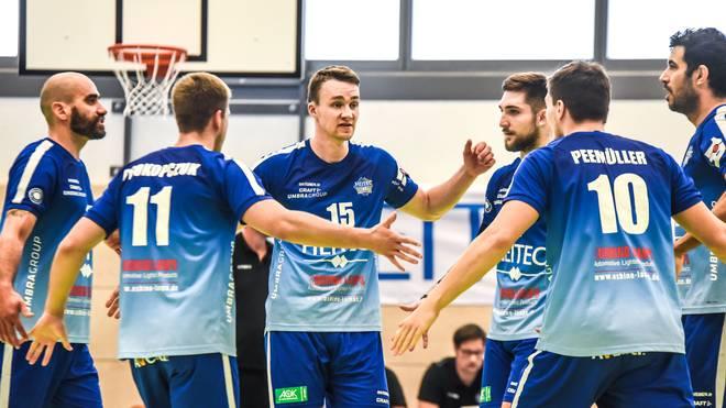 Die Heitec Volleys Eltmann stehen vor dem Aus