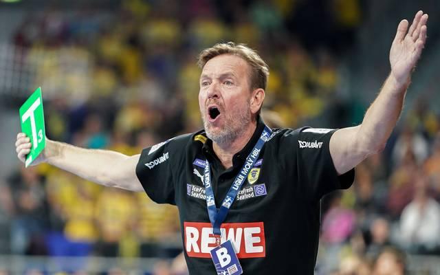 Martin Schwalb ist Trainer der Rhein-Neckar Löwen