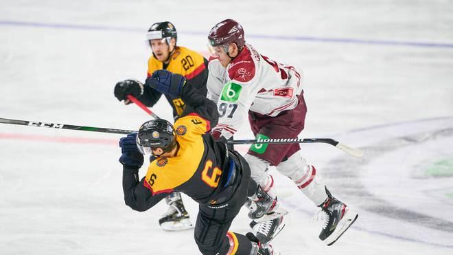 Lettland war für die deutschen Talente zu stark