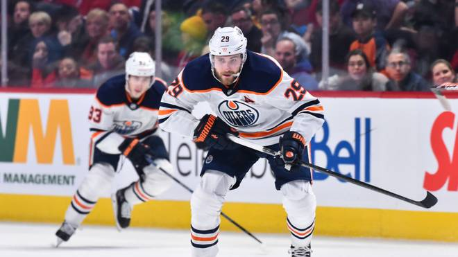 Leon Draisaitl ist mit den Edmonton Oilers auf Playoff-Kurs
