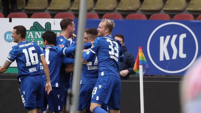 Der Karlsruher SC will den nächsten Sieg einfahren