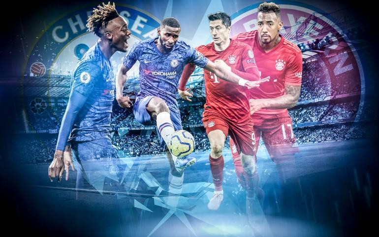 Der FC Bayern greift in die K.o.-Phase der Champions League ein. Im Hinspiel des Achtelfinals treten die Münchner beim FC Chelsea an. Welche Duelle auf dem Rasen werden dabei den Unterschied machen? SPORT1 zeigt die Schlüsselduelle.