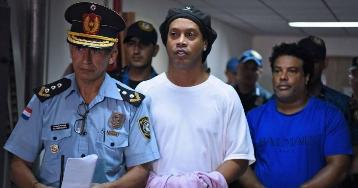 Ronaldinho und sein Bruder aus Untersuchungshaft entlassen - Hausarrest