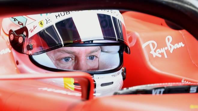 Sebastian Vettel startet in Barcelona mit den Tests