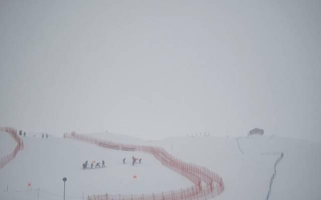 In Val d'Isere findet erneut kein Rennen statt