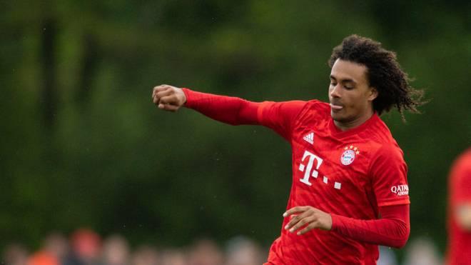 Joshua Zirkzee war in Piräus der Sieggarant für den FC Bayern