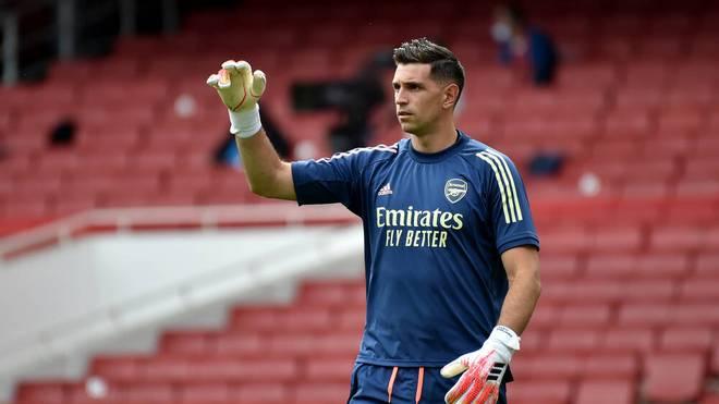 Emiliano Martínez stand seit 2012 beim FC Arsenal unter Vertrag