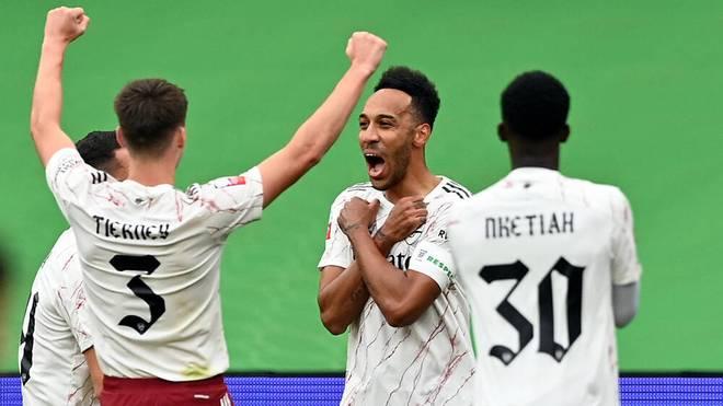 Pierre-Emerick Aubameyang widmete seinen Treffer zum 1:0 gegen Liverpool dem verstorbenen Schauspieler