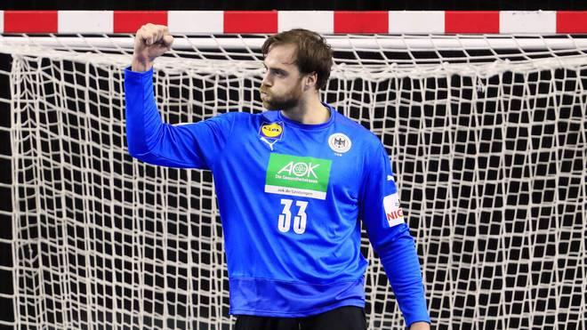 Andreas Wolff kam im ersten Spiel gegen Schweden nicht zum Einsatz