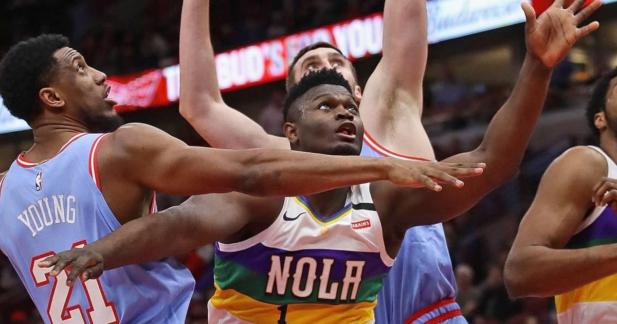 NBA: Zion Williamson glänzt für New Orleans Pelicans gegen Portland