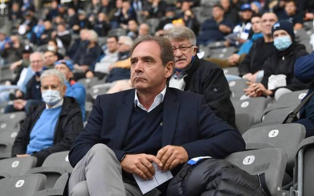 Carsten Schmidt ist mit der Leistung in der bisherigen Saison nicht einverstanden