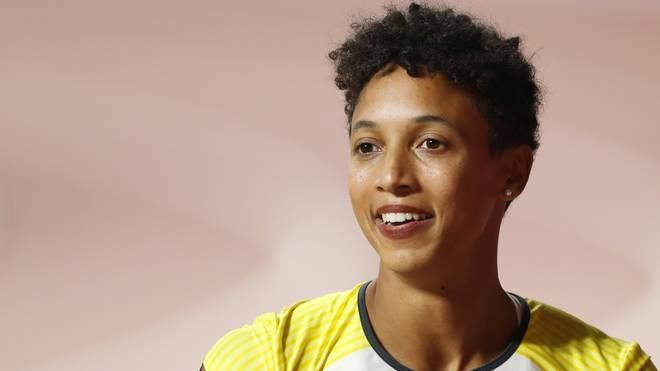 Malaika Mihambo wird Dritte im 60-Meter-Sprint