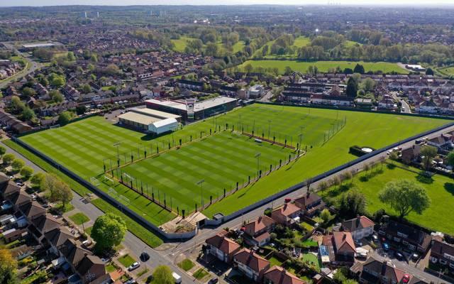 Auf den Trainingsanlagen in Melwood trainiert der FC Liverpool