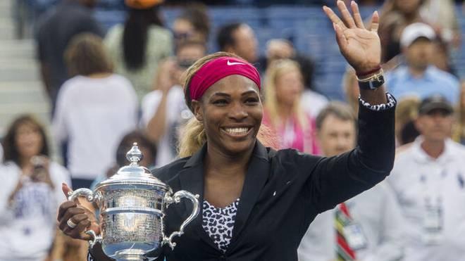 Serena Williams gewann die US Open zuletzt 2014