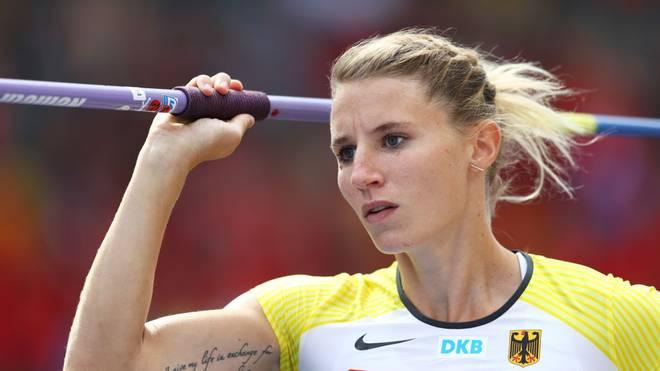 Carolin Schäfer hat ihren Start bei der Leichtathletik-WM abgesagt