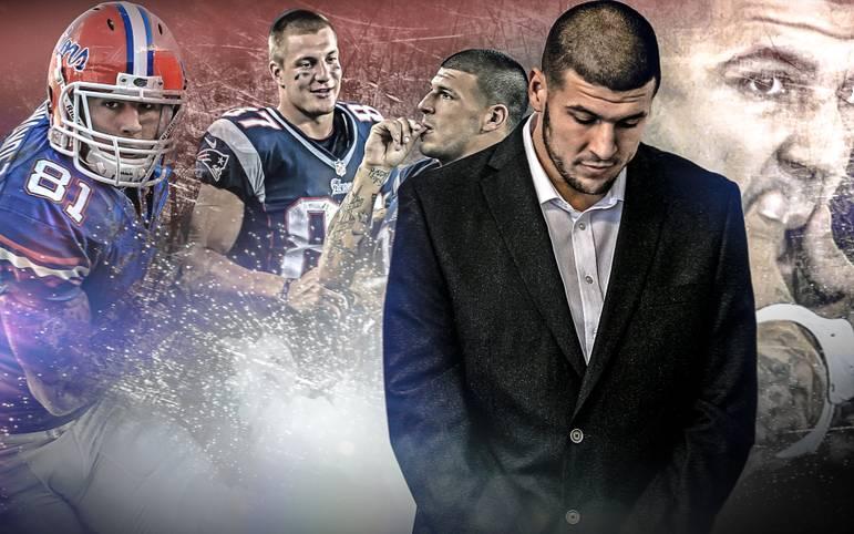 Am 19. April 2017 setzt Aaron Hernandez seinem Leben ein Ende. Der einst als kommender NFL-Superstar gefeierte Tight End bringt sich in seiner Gefängniszelle um. SPORT1 zeigt Aufstieg und Fall des ehemaligen Tight Ends der Patriots