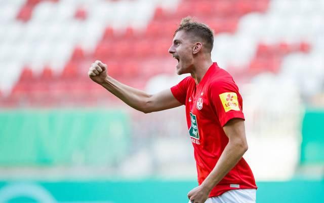 Lauterns Kevin Kraus will gegen Dynamo Dresden jubeln.