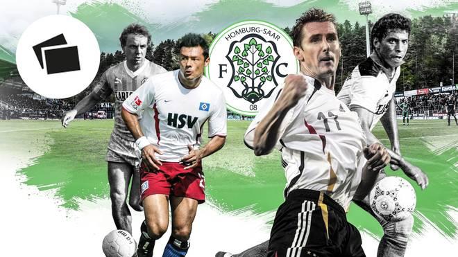 Beim FC 08 Homburg spielten einst große Namen