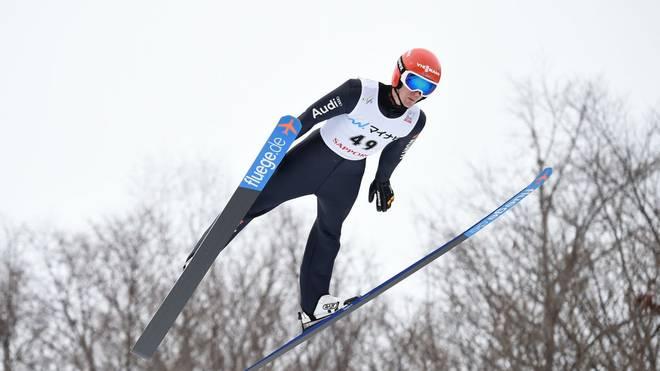 Stephan Leyhe sicherte sich beim zweiten Springen in Sapporo den zweiten Platz
