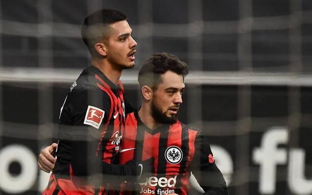 Amin Younes (r.) erzielte gegen Leverkusen sein zweites Bundesligator