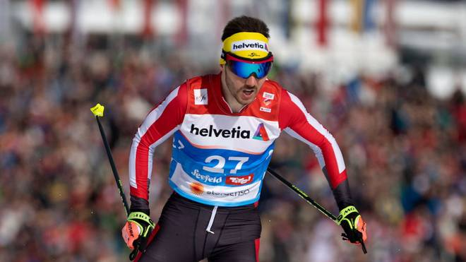 SEEFELD, AUSTRIA - FEBRUARY 21: Dominik Baldauf of Austria in action during the Men's Cross Country Sprint Qualification at the Stora Enso FIS Nordic World Ski Championships on February 21, 2019 in Seefeld, Austria. (Photo by Matthias Hangst/Getty Images)