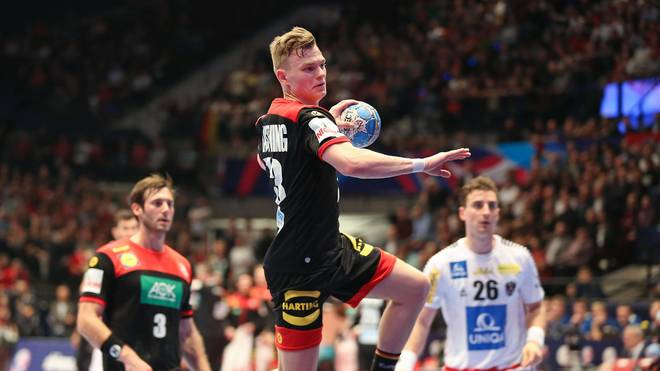 Die deutschen Handballer treffen bei der EM-Quali unter anderem auf Österreich
